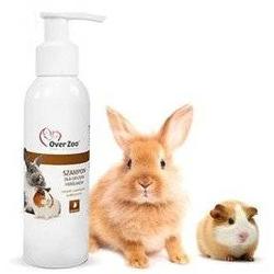 Over Zoo Shampoo für Nager und Kaninchen 125 ml  (Rabatt für Stammkunden 3%)