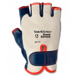Ansell Handschuh VibraGuard® 07-111, Schnitt-, durchstich- und abriebfester Schutzhandschuh, 1 Paar, Größe 8