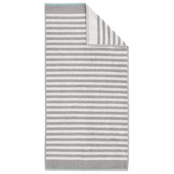 Dyckhoff Duschtuch Maritim 'Sea Stripe' 70 x 140 cm Kiesel