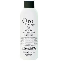 Fanola Gold Aktivator Oro Puro 6% 150 ml