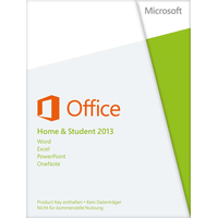 Microsoft Office Home & Student 2013 PKC DE Win
