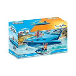 Playmobil® Spielzeug-Boot PLAYMOBIL® 70630 - Family Fun - Fun Park - Yacht mit Jet Ski