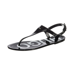 HUGO Emma Flat Sandal T-Steg-Sandalen T-Strap Pumps 38