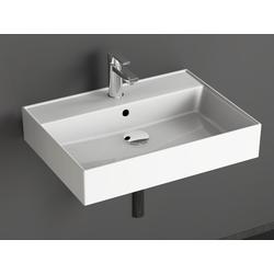 Aqua Bagno Waschbecken Aqua Bagno Loft Air Design Keramik Waschbecken 60