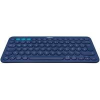 Bluetooth Multi-Device Tastatur DE blau (920-007567)