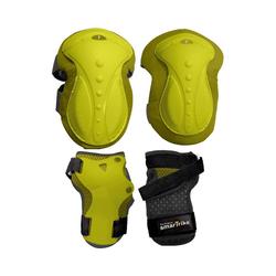 smarTrike® Protektoren-Set Protektoren-Set Gr. XS, pink gelb