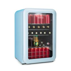 Retro Getränkekühler Kühlschrank Getränkekühlschrank 115L »PopLife130«, Kühlschränke, 42508166-0 blau blau