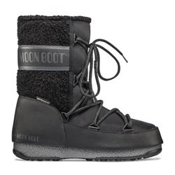 Moon Boots Monaco Wool Mid WP - Moon Boots - Damen Black 38 EUR