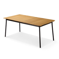 Ausziehbarer Gartentisch »Industrial«, 180/240 cm