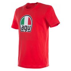 Dainese AGV T-Shirt rot XXL