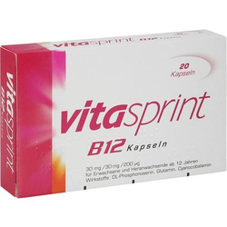 VITASPRINT B12 Kapseln 20 St