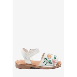Next Verzierte Ledersandale im menorquinischen Stil Sandale 25,5