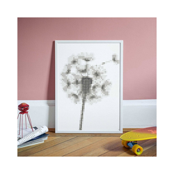 Dot On Malvorlage dot on art - pusteblume, 50 x 70 cm