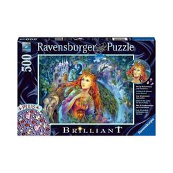 Ravensburger Puzzle Puzzle Magischer Feenstaub, 500 Teile, Puzzleteile
