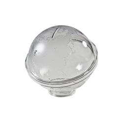 HMF Spardose Spardose 47500, Acryl Spendenbox, Globus, 13 cm Ø