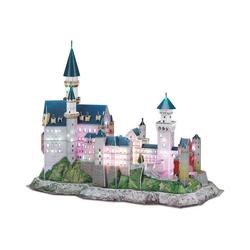 Revell® 3D-Puzzle 3D-Puzzle Schloss Neuschwanstein-LED Edition, Puzzleteile