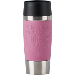 Emsa Thermobecher Travel Mug, (1 tlg.), 100% dicht, 360 ml rosa und Coffee to go Geschirr, Porzellan Tischaccessoires Haushaltswaren