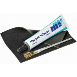 m2 Neopren Reparatur Set + Pinsel Reparaturkleber Neoprenkleber