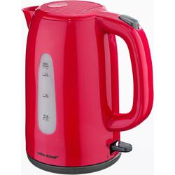 Efbe-Schott Wasserkocher, SC WK 1080.1 ROT, 1,7 Liter, 2200 Watt, Wasserkocher, 86167753-0 rot rot