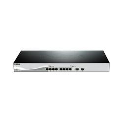 D-Link DXS-1210-10TS 8-Port 10GBit/s 2-Port 10GBit/s SFP+ Switch