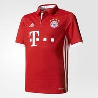 adidas FC Bayern München Kinder Heim Trikot 2016/2017 fcb true red/white