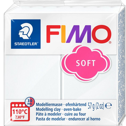 FIMO Modelliermasse, 57 g weiß