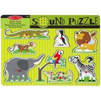 Melissa & Doug Puzzle - Zoo Animals Formpuzzle 8 Stück(e)