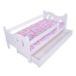 Kagu Kinderbett weiß 70 x 140 cm