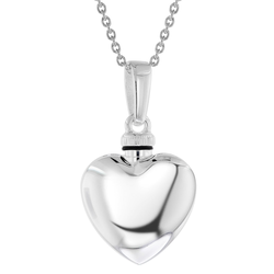 trendor 39746 Urne Anhänger mit Halskette 925 Silber, 50 cm