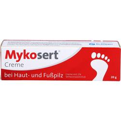 MYKOSERT Creme bei Haut- und Fußpilz 20 g