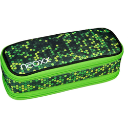 neoxx Etui NEOXX Schlamperbox neoxx Catch Pixel in my mind grün