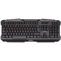 Trust GXT 280 LED Illuminated Gaming Keyboard DE schwarz (18913)