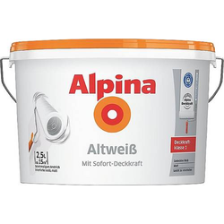 Alpina Farben Wandfarbe Altweiß 942448 10l