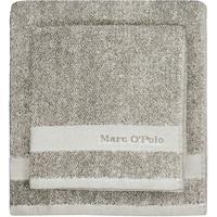 Marc O'Polo Melange Duschtuch 70 x 140 cm beige/sand