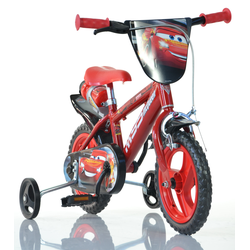 Dino Kinderfahrrad Cars rot Kinder Kinderfahrräder Fahrräder Zubehör