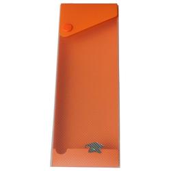 Ausziehbare Stiftebox Stifteetui orange