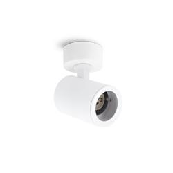 linovum LED Aufbaustrahler TENJO Aufputz Deckenspot Wandstrahler schwenkbar & drehbar in weiß für 1x GU10