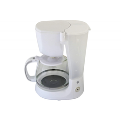 Kaffeemaschine COOK IT 750 Watt bis 10 Tassen 1,25L Weiss