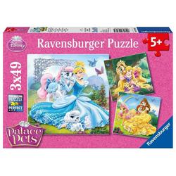 Ravensburger Puzzle Disney Palace Pets: Belle, Cinderella und..., Puzzleteile
