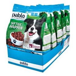 Pablo Hundefutter Saftige Happen Rind 1,5 kg, 5er Pack