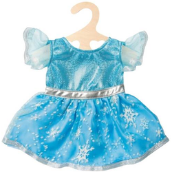 Puppen-Kleid Eis-Prinzessin, Gr. 35-45 C