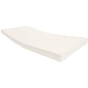Dibapur® Rollmatratze Orthopädische Kaltschaummatratze (Rollmatratze) 140x200 x Kernhöhe 11 cm und mit Standard (Achtung! Bezug und Kern Farbe kann abweichen!) Bezug (Glatt) ca. 11,2 cm