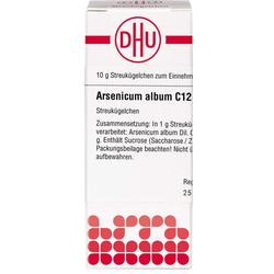 ARSENICUM ALBUM C 12 Globuli 10 g