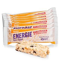 Sanct Bernhard Sport Energie Reis-Riegel Mango 11er-Pack