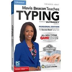 Mavis Beacon Teaches Typing Personal Edition, English