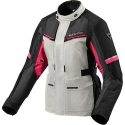 Revit Outback 3 Dames motorfiets textiel jas, pink-zilver, 44 Voordonne