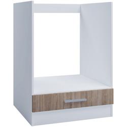 VCM Backofenumbauschrank Ofenschrank für Einbauherd 60cm Sonoma Eiche
