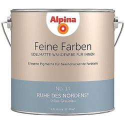 Alpina Farben Wandfarbe Feine Farbe No. 14 898600 2.5l