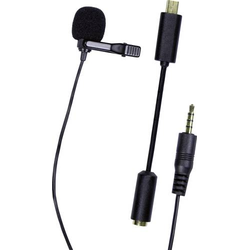 Dörr Foto Laveliermikrofon GP-20 für GoPro® Ansteck Sprach-Mikrofon