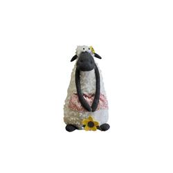 HTI-Line Dekofigur Schaf schwarz, Figur